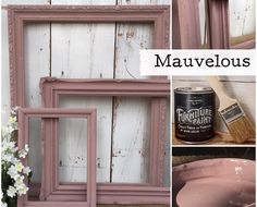 No Prep Furniture Paint ~ Mauvelous