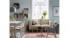 IKEA : 25 idées pour combiner les éléments EKET dans la maison Ikea Eket, Office Shelf, Dining Chairs, Gallery Wall, Shelves, Furniture, Home Decor, Home Decoration, Projects
