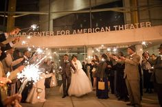 Wedding Sendoff | Kaisha + Quinton – Arena Stage – Washington, DC | 1-2-15 | Photo Cred: Photography by Steve and Jane | Wedding Coordinator | Simply Breathe Events#dcweddingplanner
