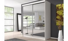 Modern MDF/Chipboard Wardrobes with Hanging Rail and 2 Doors for sale Hall Wardrobe, Open Wardrobe, Sliding Wardrobe Doors, White Wardrobe, Mirrored Wardrobe, Sliding Doors, Malta, Tv Armoire, Cupboard Shelves