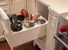 kitchen cabinet storage solutions | Kitchen Cabinets Storage Solutions: Simple, But Savvy ...