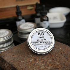 Our Old School Pomade is based on the classic pomade texture (a perfect balance of greasy, waxy and gummy) but achieved here without the disturbing addition of animal fats and petroleum products. #mensgrooming #brooklyngrooming #handmade #brooklyn #style #best #natural #oldschoolpomade