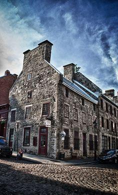 Vieux-Montréal, behemothmedia, via Flickr