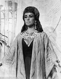 The original: Elizabeth Taylor as Cleopatra in the 1963 Hollywood movie