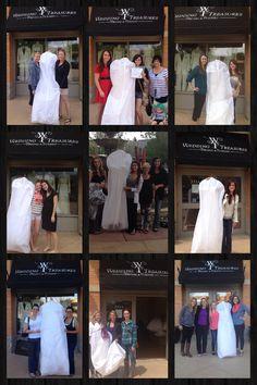 Our beautiful brides. Beautiful Bride, Brides, Coat, Wedding, Fashion, Valentines Day Weddings, Moda, Sewing Coat, Fashion Styles