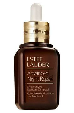 Estee Lauder Advanced Night Repair..I don't go to bed without it! I've used for years and years and I think my skin looks great for an almost 50 year old