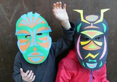 masque en papier,activité enfant,carnaval,déguisement,DIY,tuto,réaliser un marsque avec les enfants,activité pour enfant,poc a poc