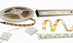 Variable Color Temperature Flexible Light Strip Kit with RF Touch Remote   Complete LED Strip Kits   LED Light Strips & Light Bars   Super B...