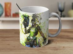 Lucio Overwatch Mug Overwatch Coffee Mug Color Changing Mug Magic Mug OV-19 #Handmade