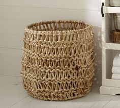 Mara Open Weave Basket | Pottery Barn