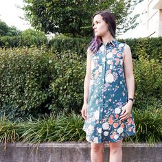 Tasia's Alder Shirtdress: A Change From My Usual Style | Sewaholic | Bloglovin'