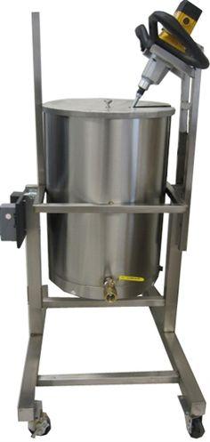 Pot Tipper Kettle Tank Complete Soap Maker