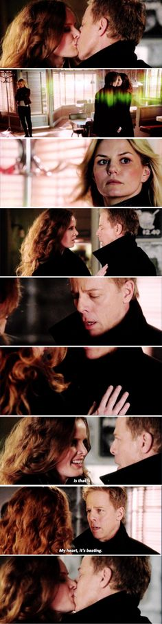 Once Upon a Time...nice to see a softer, vulnerable side of Zelena but why did it have to be with him?