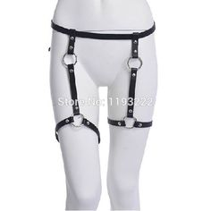 Women's Intimates Objective Sexy Women Harajuku Single Strap Clip Leather Punk Suspender Hook Belts Adjustable Leg Cage Handmade Sock Garter Belt Harness Underwear & Sleepwears