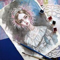 Original watercolor art. Fashion. #art #illustration #fashionillustration #dolcegabbana