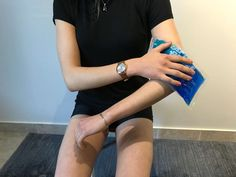 Application glace pour epicondylite Tennis Elbow, At Home Workouts, Bad Posture, Ice