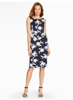 Shadow Roses Dress