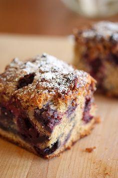 Cherry Berry Crumb Cake