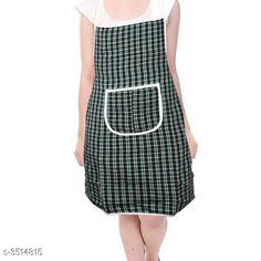 Aprons  Classy Stylish Cotton Apron Material:  Cotton Size: 50 in Length : Up To 27 in  Colour : Green Description:It Has 1 Piece Of Apron Pattern: Checkered Sizes Available: Free Size *Proof of Safe Delivery! Click to know on Safety Standards of Delivery Partners- https://ltl.sh/y_nZrAV3  Catalog Rating: ★4 (7218)  Catalog Name: Free Mask Classy Stylish Cotton Apron Vol 4 CatalogID_489261 C129-SC1633 Code: 631-3514815-