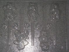 "*** CARE BEARS ""NEWEST"" CHOCOLATE CANDY MOLD ***"