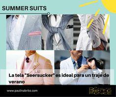 Trajes de verano para hombres. Tendencias 2015