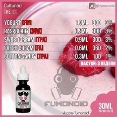 Premium E-liquids straight from the manufacturer Diy Vape Juice, Vape Diy, Talipia Recipes, Vape Facts, E Juice Recipe, Cotton Candy Clouds, Vape Smoke, Cherry Candy, Fresh Cream