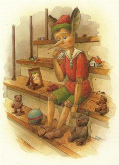 Kestutis Kasparavicius    WATERCOLOR | Pinocchio