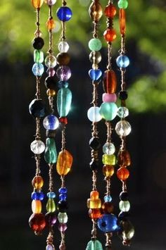Beaded sun-catchers - jewelry for your home  :-) by Seriously?
