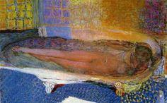 ピエール・ボナール-浴槽の裸婦-