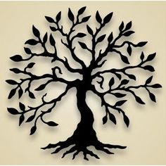 silhouette tree of life | ... wall-hanging-flower-tree-olive-tree-wall-bc-olivetree-wall-8937big.jpg by MarylinJ