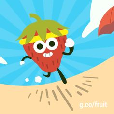 August 12, 2016 2016 Doodle Fruit Games - Day 8 //doodle gif