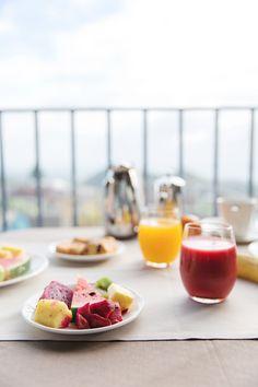 Voyage à La Reunion - Petit Déjeuner au Diana Dea Lodge