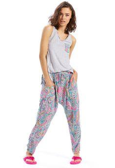 Paisley Drop Crotch Pj Pant Pyjamas Online 4a15a1cbc
