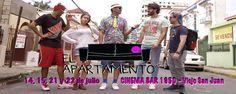 """No te pierdas """"El Apartamento: Una Semana y te Largas!"""" 14-22 de julio en Cinema Bar del Viejo San Juan. Boletos --> https://tcpr.com/es-PR/shows/el%20apartamento-%20una%20semana%20y%20te%20largas,%20san%20juan/events?utm_content=bufferc568f&utm_medium=social&utm_source=pinterest.com&utm_campaign=buffer"""