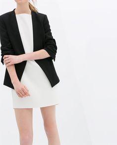 Image 2 of BLAZER WITH TURN UP SLEEVE from Zara Streetwear Jackets 833ce745420