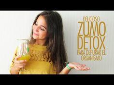 Zumo #detox para depurar el organismo | enfemenino tendencias - YouTube #DIY #drink