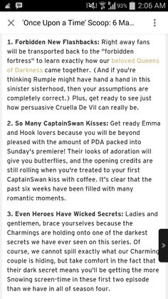 Once upon a time - 4 B Scoop<<< I'm hyperventilating on the bus right now