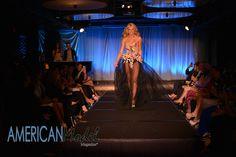Lexie Carleton rocking the runway for Mac Duggal in Miami   Photo: Amanda Ferguson Photography @afergusonphoto  Hair & Makeup: Crown Style Glam @crownstyleglam