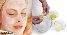 It Tightens the Skin Better Than Botox: This 3 Ingredients Face Mask Will Make You Look 10 Years Younger - Beauty Care Magazine Facial Masks, Facial Hair, Egg Facial, Facial Cream, Natural Face, Natural Skin Care, Beauty Secrets, Beauty Hacks, Egg White Mask