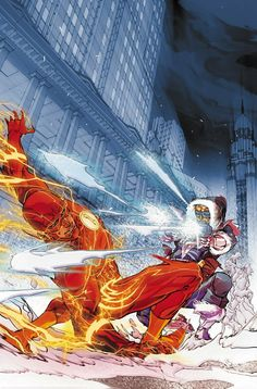 The Flash and Captain Cold