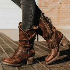 Receive serious shoe envy when you shop the FREEBIRD Stores collection. The best boots & booties of handcrafted masterpieces for the boot enthusiasts. Boots For Short Women, Short Boots, Boho Boots, Cowgirl Boots, Stylish Boots, Adidas, Womens High Heels, Leather Booties, Womens Slippers