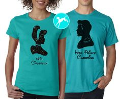 He's Mine! She's Mine! - His and Hers Matching Couple's Disney World Vacation Tees: Finding Nemo Themed - Set of 2 woryepq2U