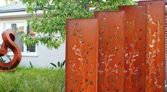 Decorative Garden Screens - Metal Screens | Pierre Le Roux Design
