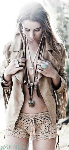 — Boho chic et cool Boho Chic, Hippie Chic, Hippie Style, Gypsy Style, Bohemian Mode, Hippie Bohemian, Bohemian Style, Boho Gypsy, Style Nomade