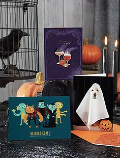 HALLOWEEN GREETING CARDS by Design Design Halloween Greetings, Halloween Design, Design Design, Greeting Cards