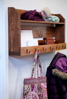 Ana White | Build a Small Pallet Inspired Coat Rack with Shelves | Free and Easy DIY Project and Furniture Plans