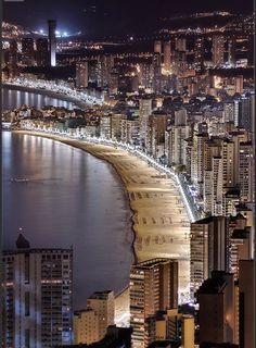 20 Amazing Photos of Beaches Around the World Part 2 - Postales de Benidorm, Alicante, Spain Places Around The World, Travel Around The World, Around The Worlds, Places To Travel, Places To See, Wonderful Places, Beautiful Places, Spain Holidays, Alicante Spain