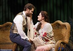 Matthew Morrison and Laura Michelle Kelly in Finding Neverland <3 BEST.MUSICAL.EVER!