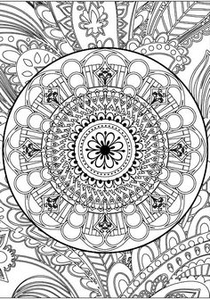 The Garden Mandala An Adult Coloring Book Eclectic Books G Find This Pin And More