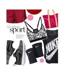 """""""Session Sport!"""" by inyene105 ❤ liked on Polyvore featuring NIKE and nike"""